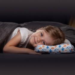 Детская ортопедическая подушка Memorysleep Tiny Plus (белая)